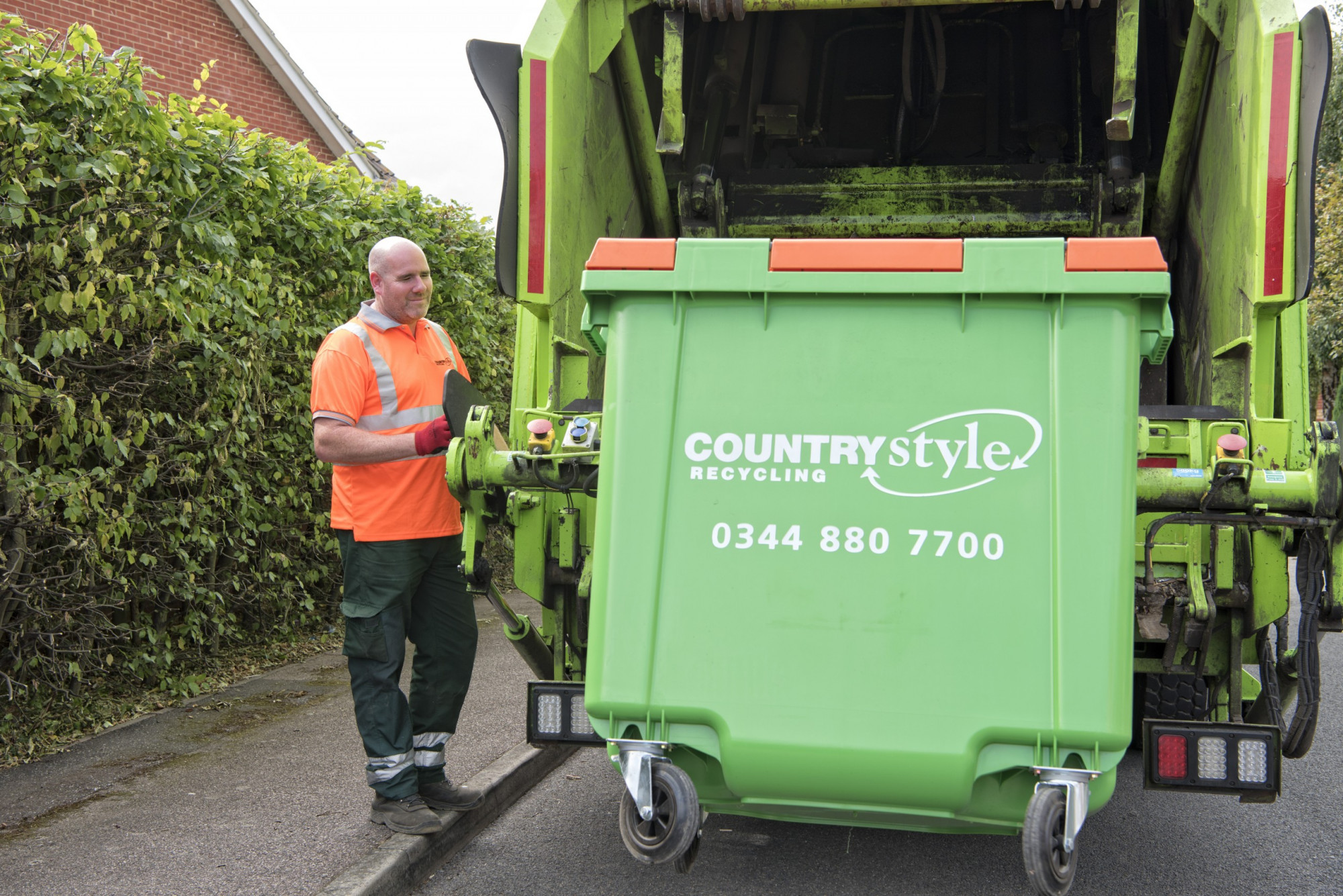 Countrystyle Recycling - Waste Collection Lorry