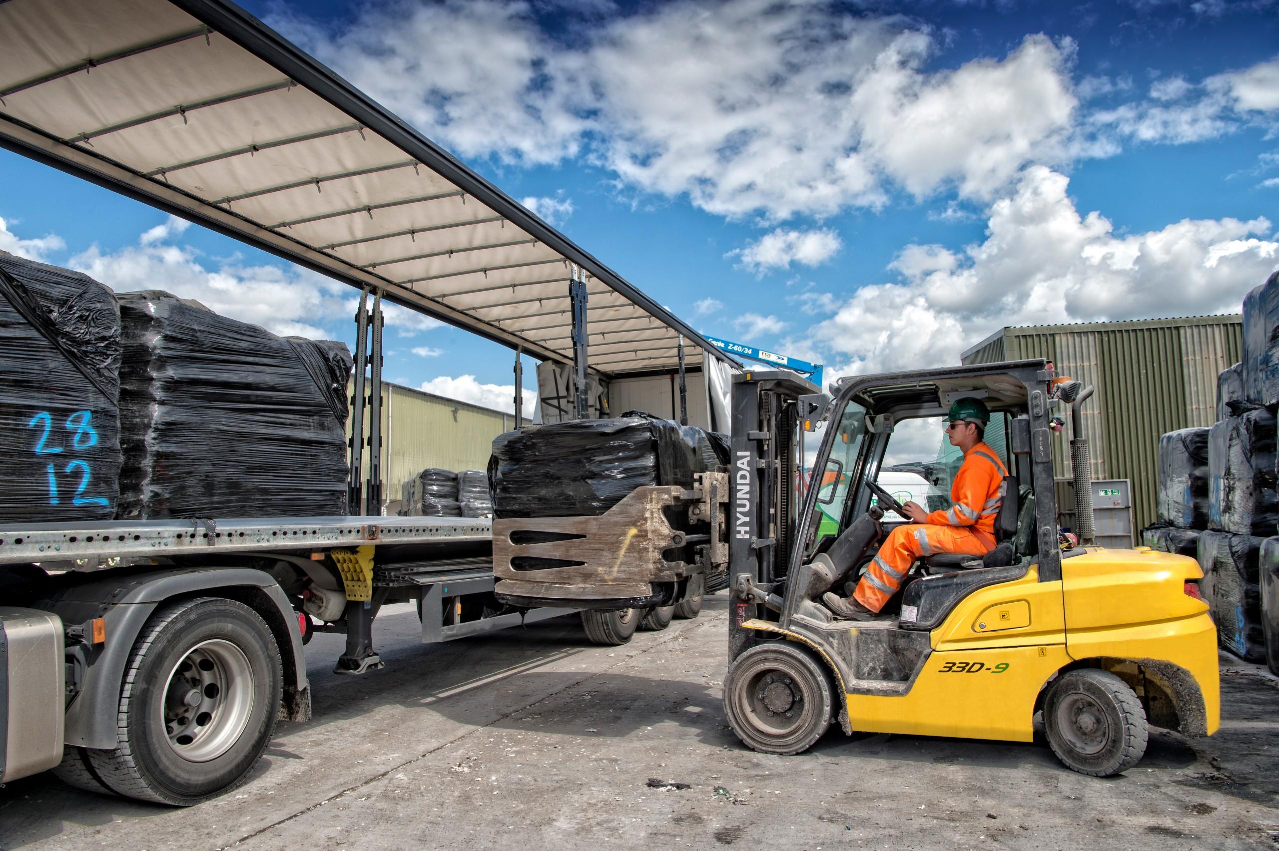 Forklift Truck Waste Removal
