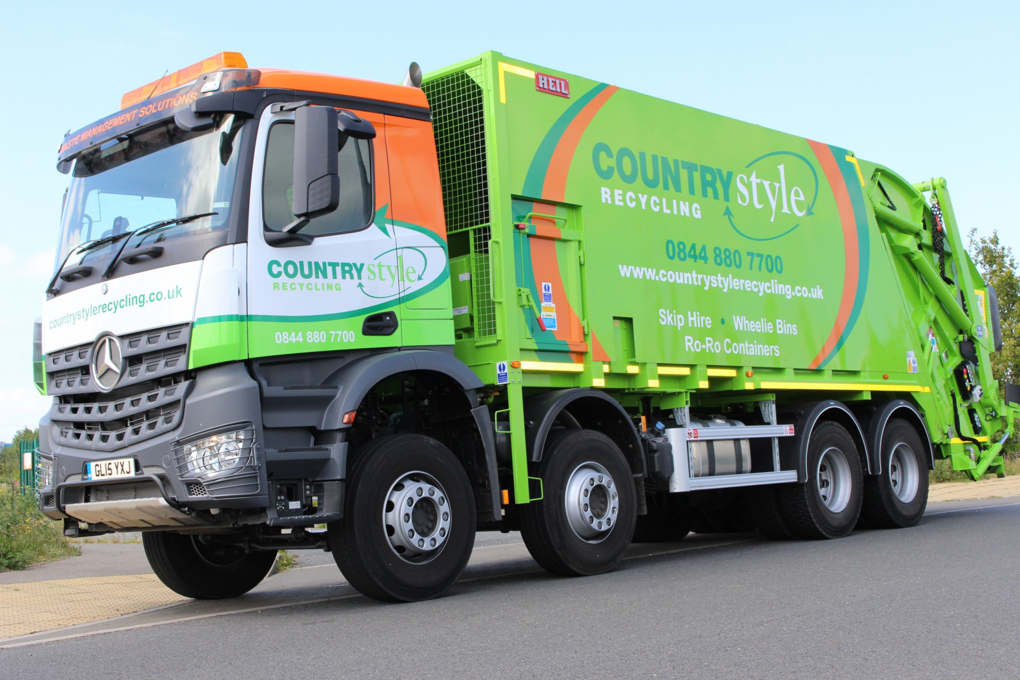 Countrystyle Recycling, Wheelie Bins - Rubbish Truck