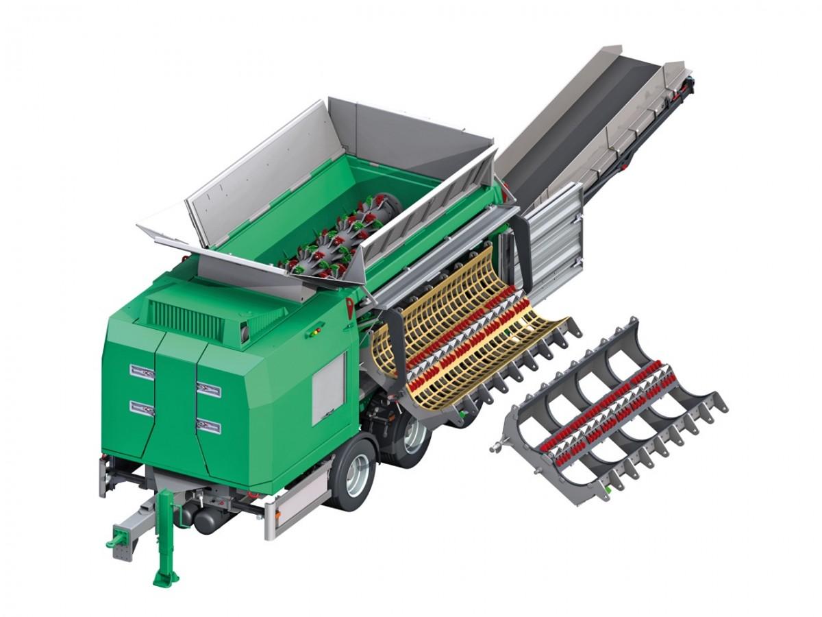 Crambo waste shredder