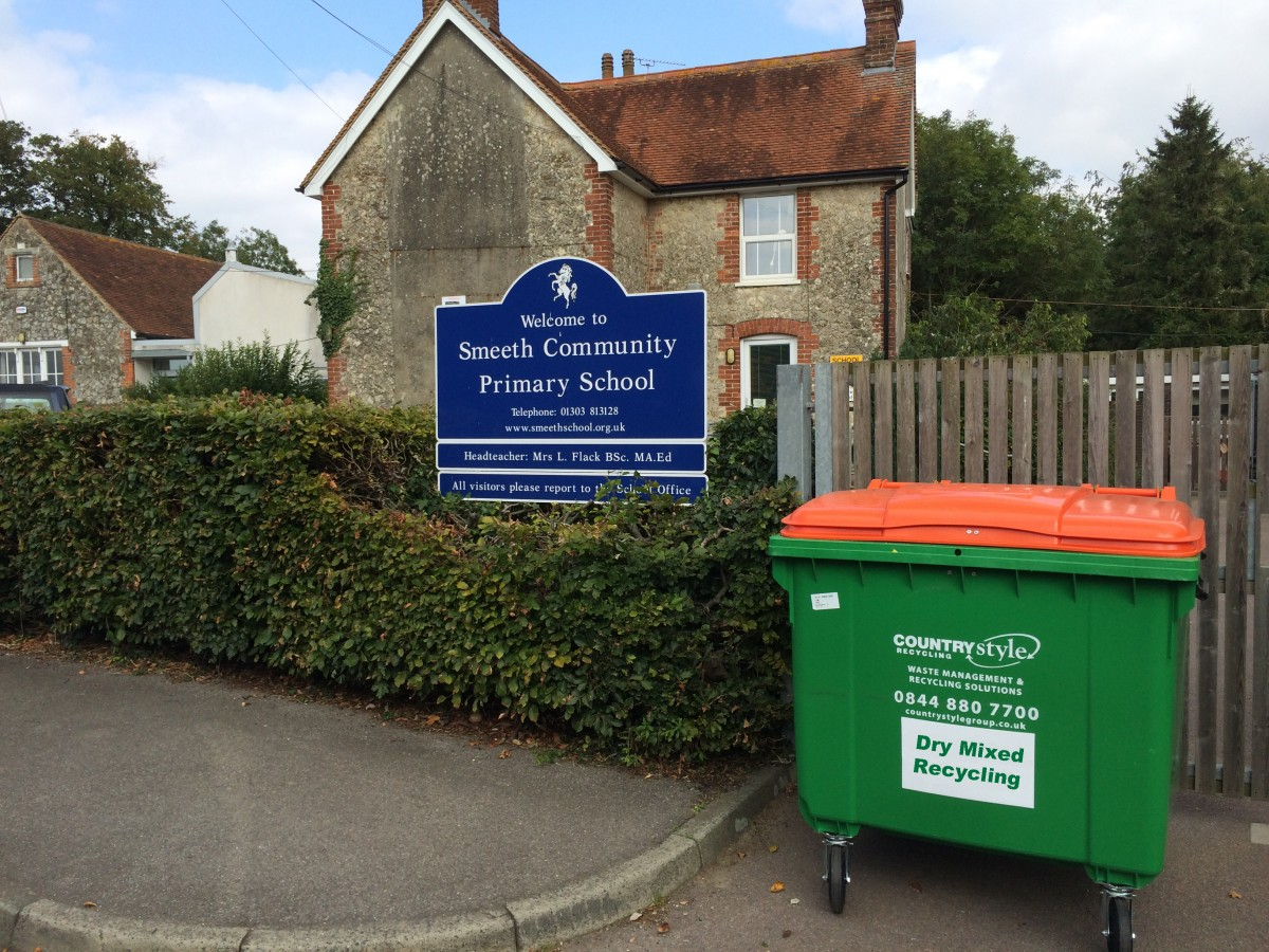 Trade waste Collection, Wheelie Bin, Dry Mixed Recycling, General waste