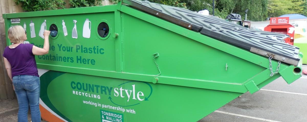 Our Customers, Plastic Recycling, Tonbridge & Malling Borough Council