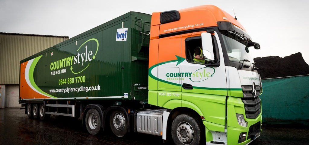 Countrystyle Recycling - Bulk Haulage Lorry Picture