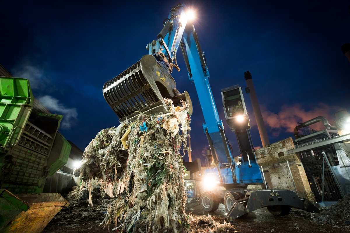 Countrystyle are now one of a handful of companies able to recycle Ragger Rope from the paper recycling process
