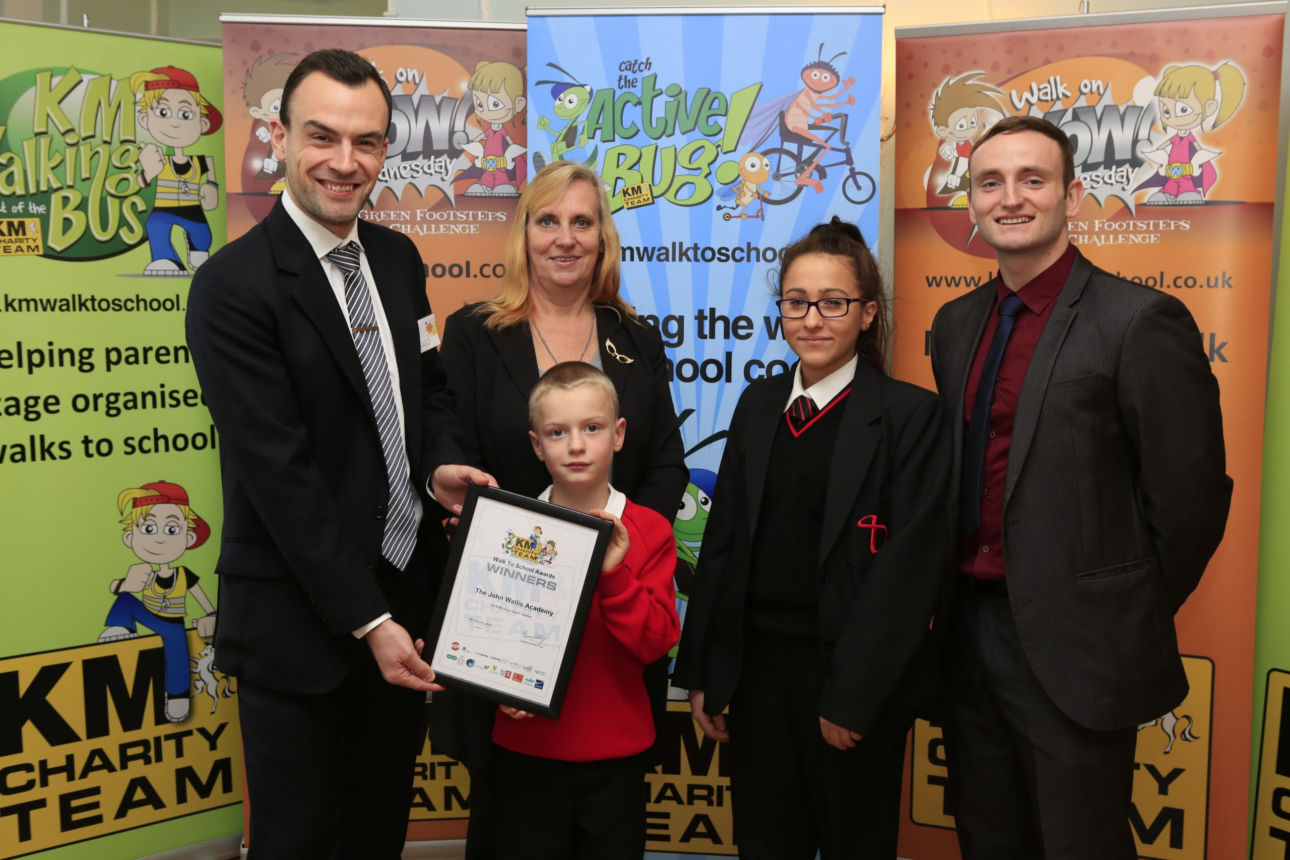 KM Charity Walk to School Awards