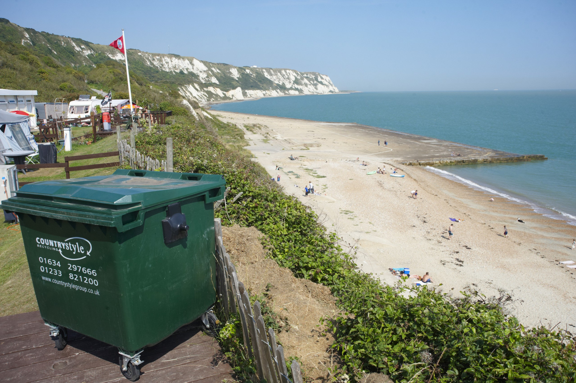 Waste Management Service across the UK at 62 Camping and Caravanning Club sites