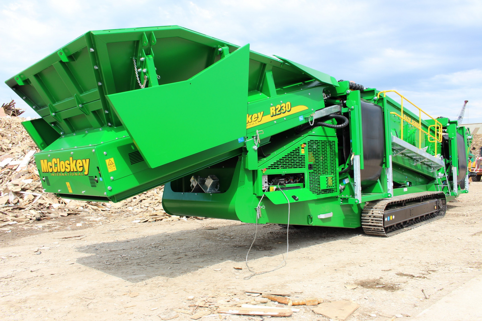 Countrystyle Takes Delivery Of A New Arjes Shredder And