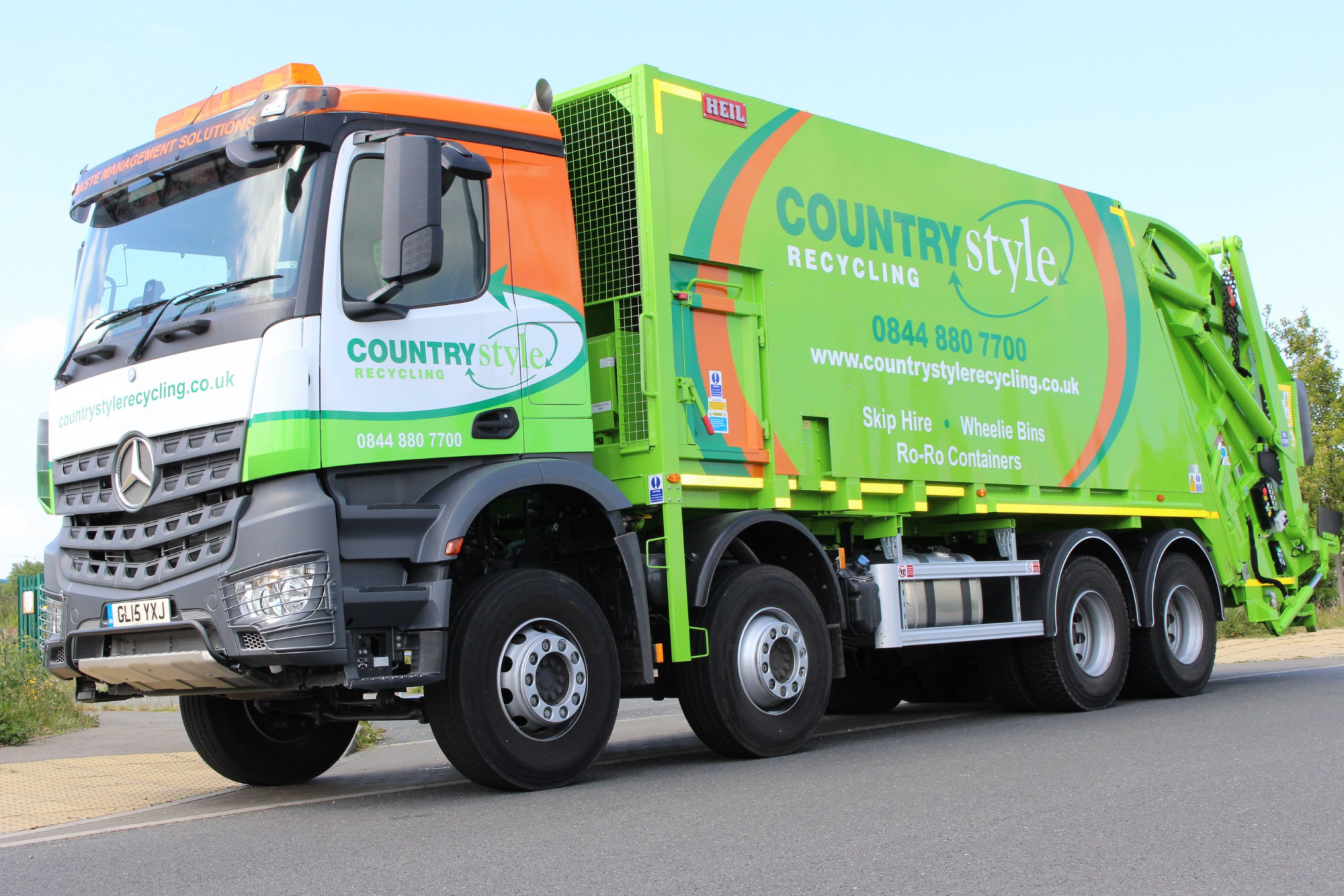 Waste collection fleet - Countrystyle Recycling
