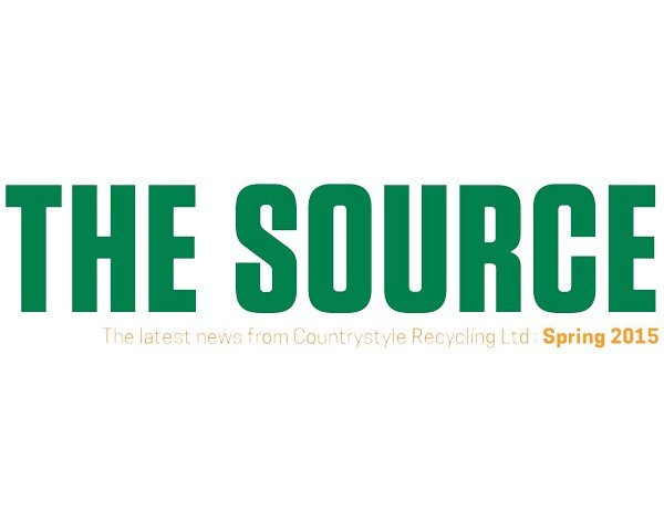 Find out what Countrystyle Recycling have been up to the the Spring 2015 edition of the Source