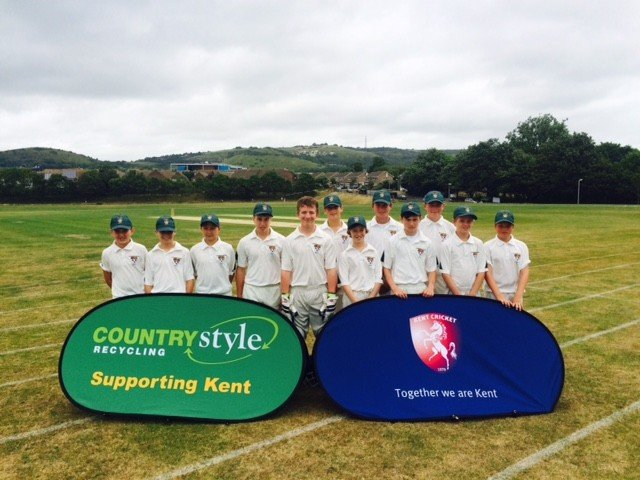 Countrystyle support and work with the Kent County Cricket Club on community projects with Kent Schools