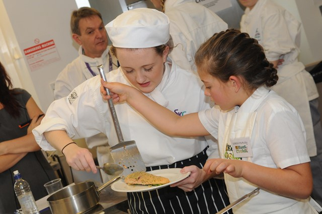 Countrystyle support the KM Charity Kent Cooks event working with schools in Kent