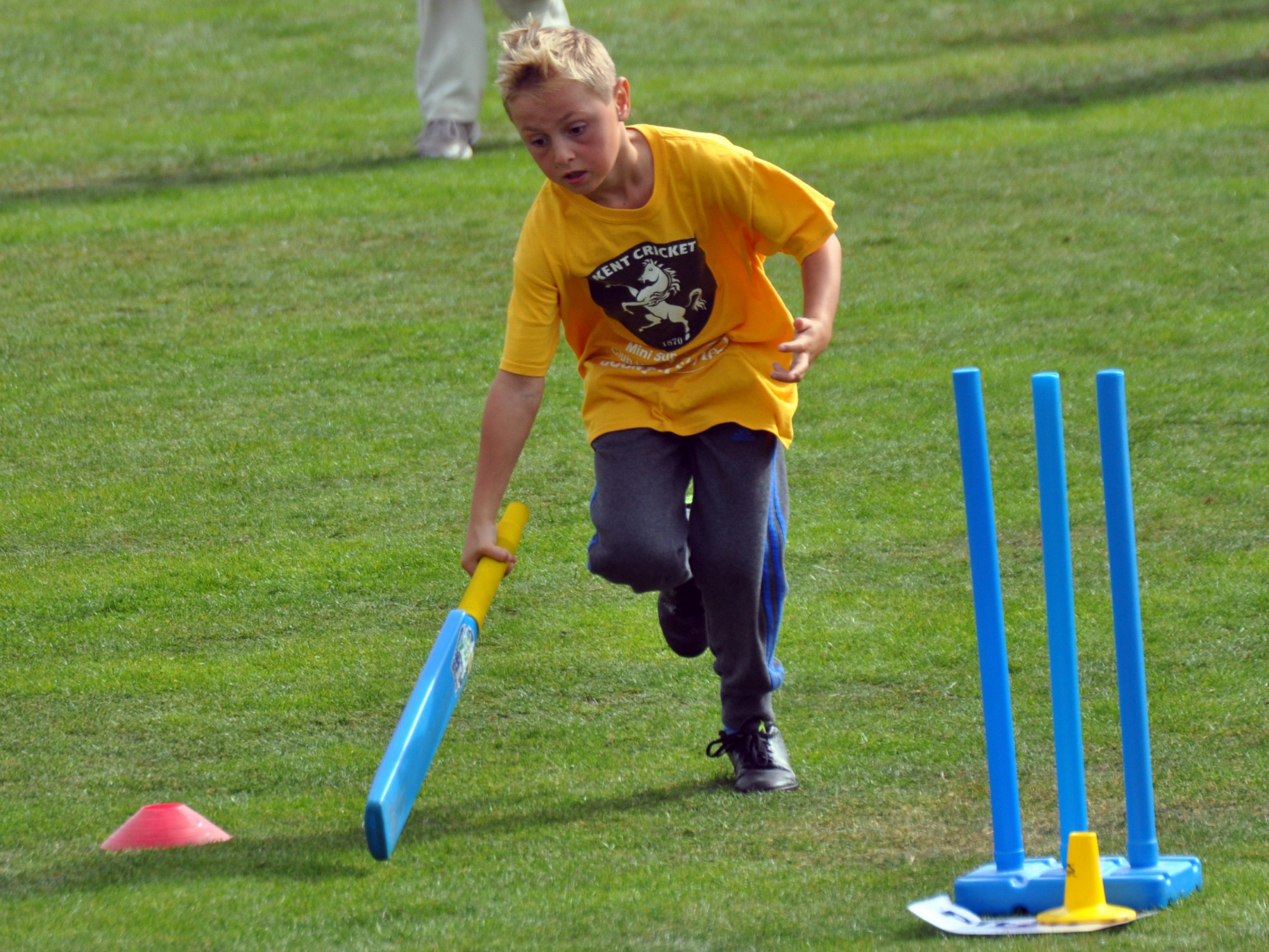 Kent County Cricket Club Mini Super 8s school event