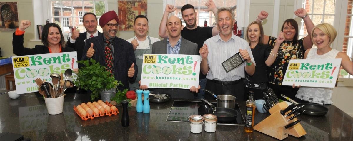 KM Charity, Kent Cooks