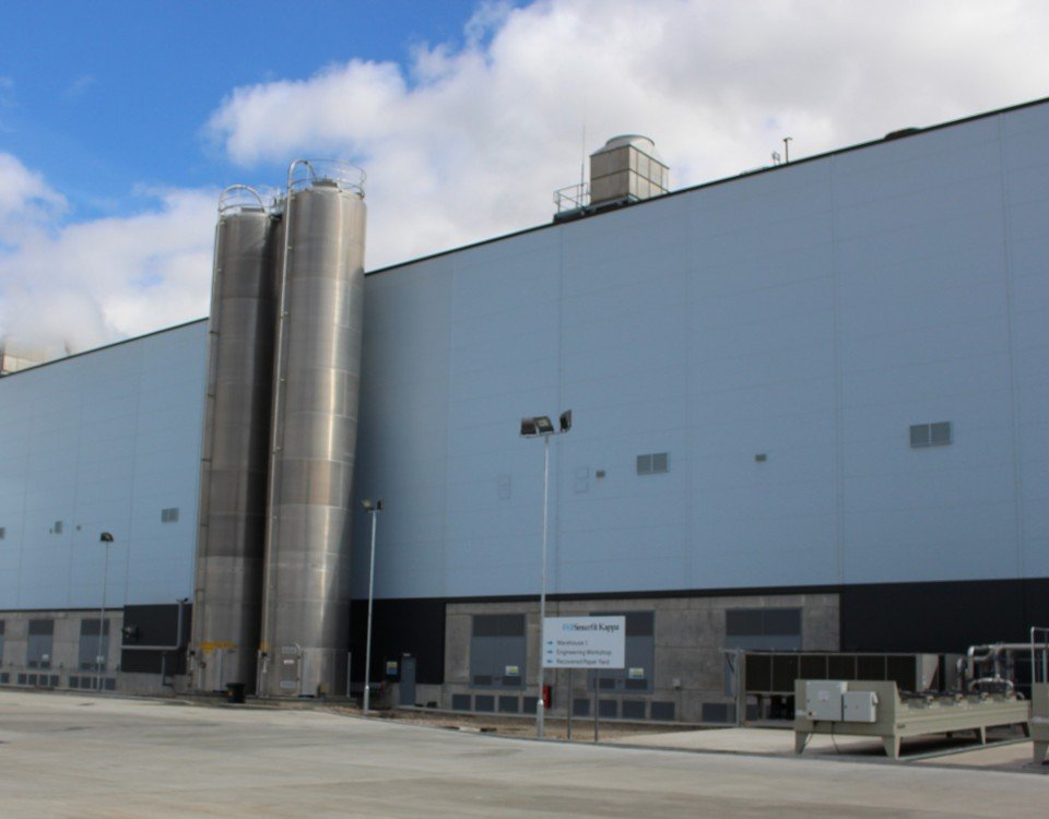 Contract win with new Smurfit Kappa Mill