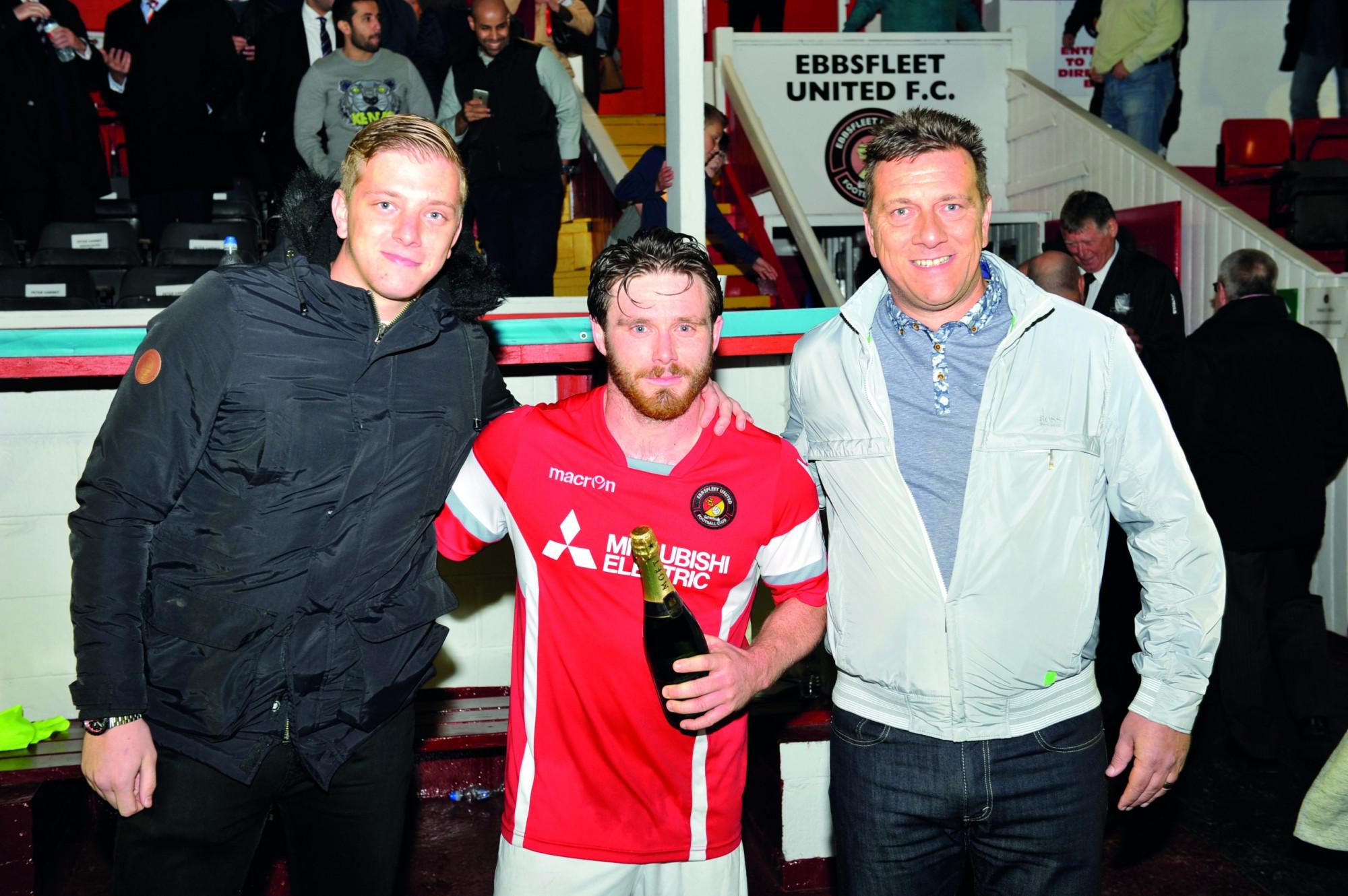 Sponsorship, Ebbsfleet Match