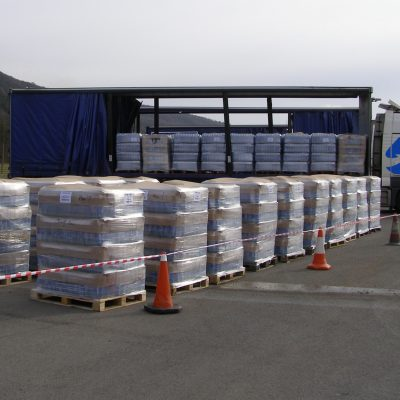 Unloading Pallets